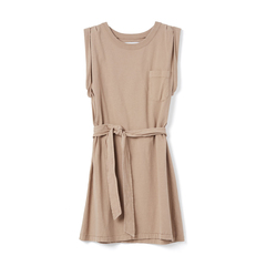 Jordana Rolled-Sleeve Dress