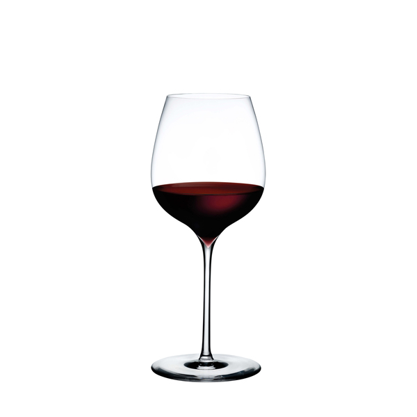 Nude Glass  Dimple Elegant Red Wine Glass, Set of 2