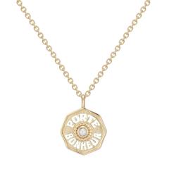 Mini Porte Bonheur Coin Necklace