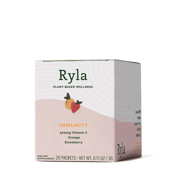 Ryla Orange Strawberry Wellness Shot