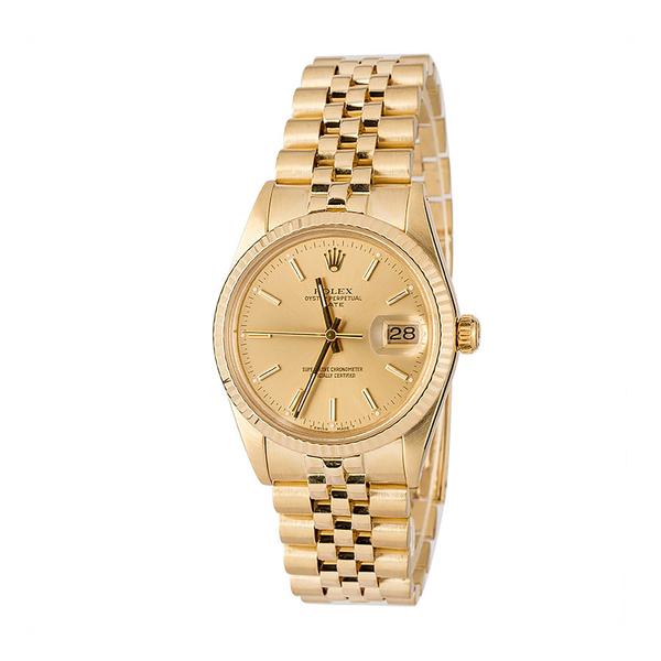 Bob's Watches Rolex Men's Datejust 34mm Model 15037
