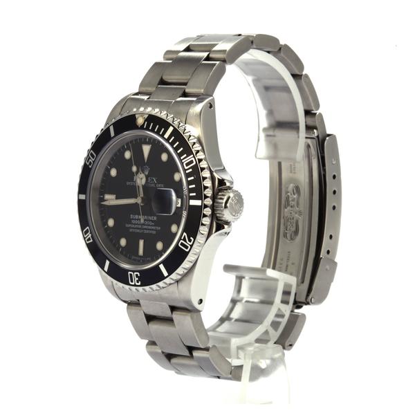 Bob's Watches Rolex Men's Submariner 40mm Model 16610