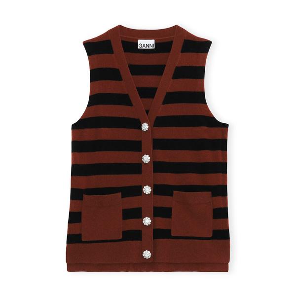 Ganni Cashmere Knit Vest