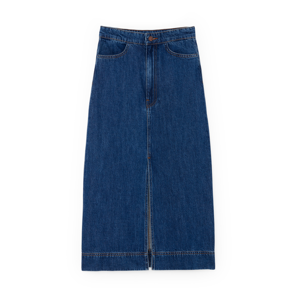 G. Label Yu Denim Pencil Skirt