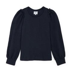 Torres Puff-Sleeve Sweatshirt