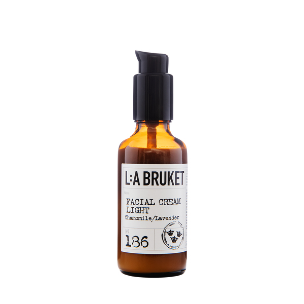 L:A BRUKET No. 186 Face Cream Light Chamomile/Lavender