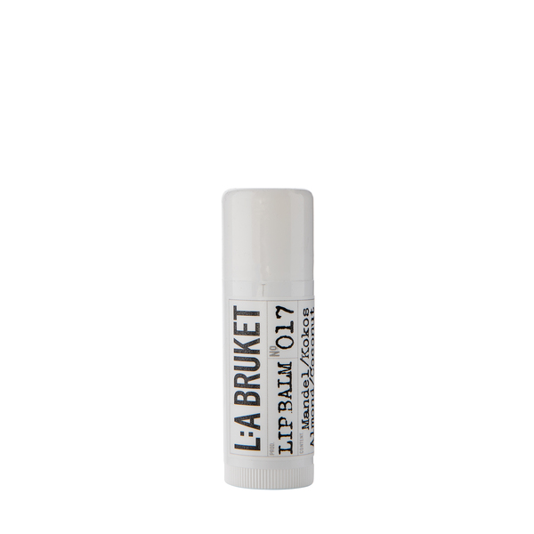 L:A BRUKET No. 017 Lip Balm Almond/Coconut