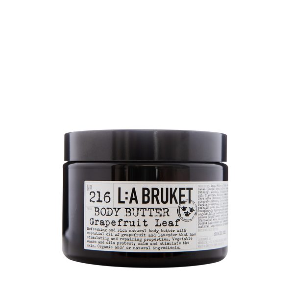 L:A BRUKET No. 216 Body Butter Grapefruit Leaf