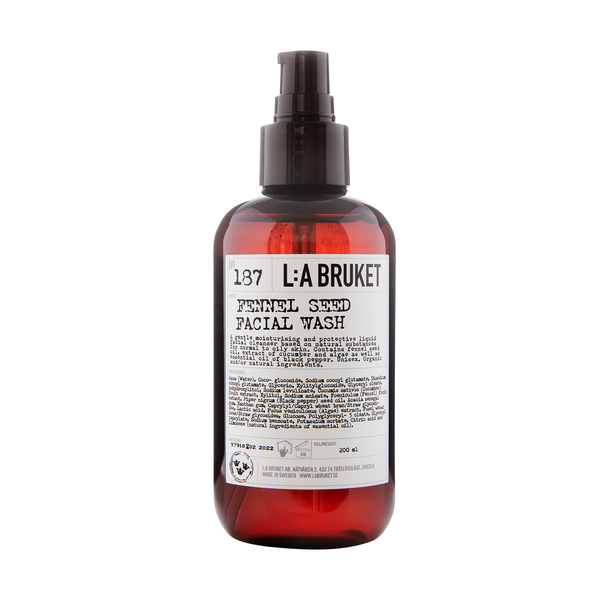 L:A BRUKET No. 187 Fennel Seed Facial Wash
