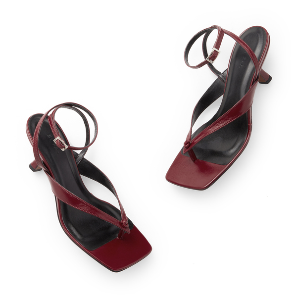 BY FAR Shoes Mindy Leather Sandals