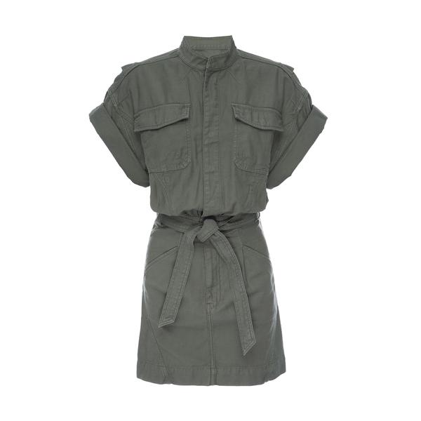 Frame Military Shirtdress