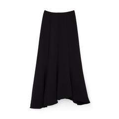 Carol Crepe Godet Skirt