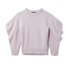 Draped Cashmere Pullover
