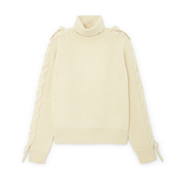 JW Anderson Cable Insert Turtleneck