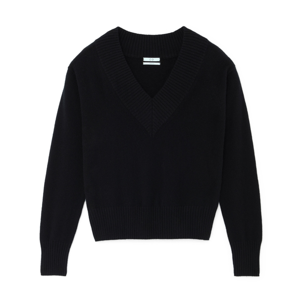 Co Wide V-Neck Sweater