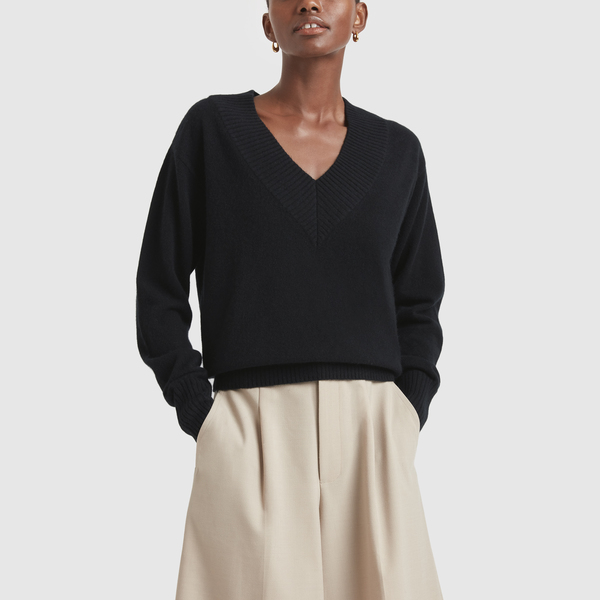 CO Wide V-Neck Sweater