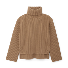 Frist Wide-Rib Turtleneck