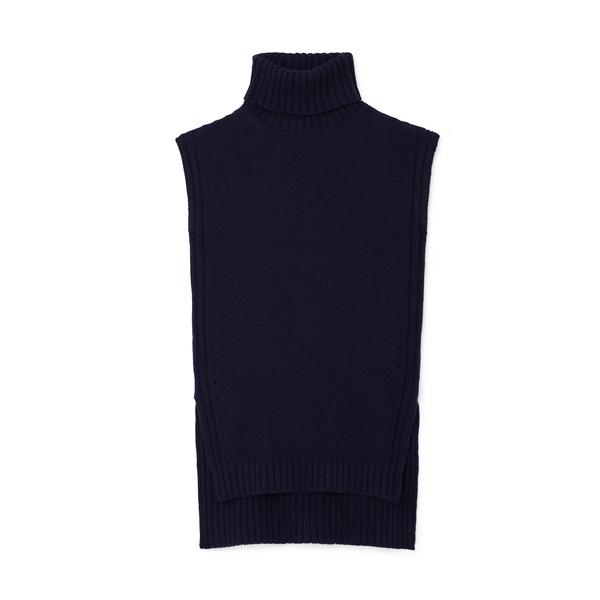 G. Label Tia Sleeveless Turtleneck Sweater