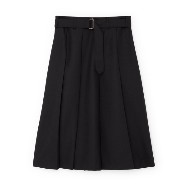 Officine Generale Kendall Pleated Skirt