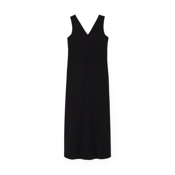 Co Sleeveless V-Neck Dress