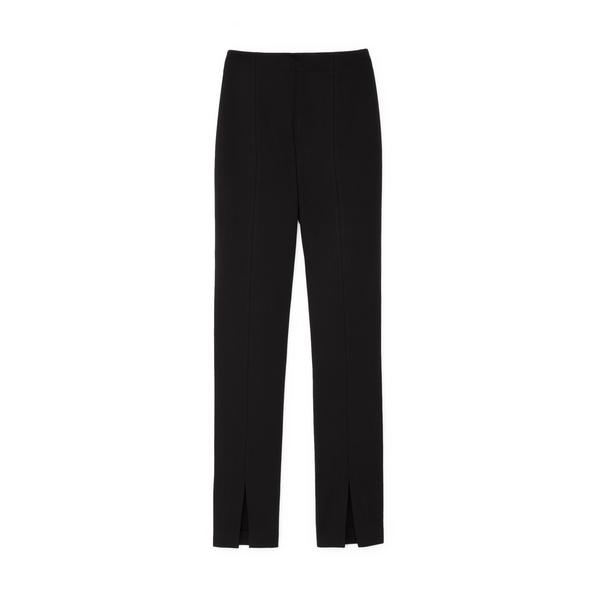 Tibi Bond Stretch-Knit Tailored Leggings