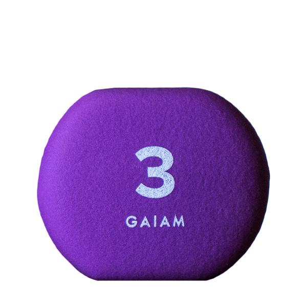 GAIAM Neoprene Hand Weights 3lb