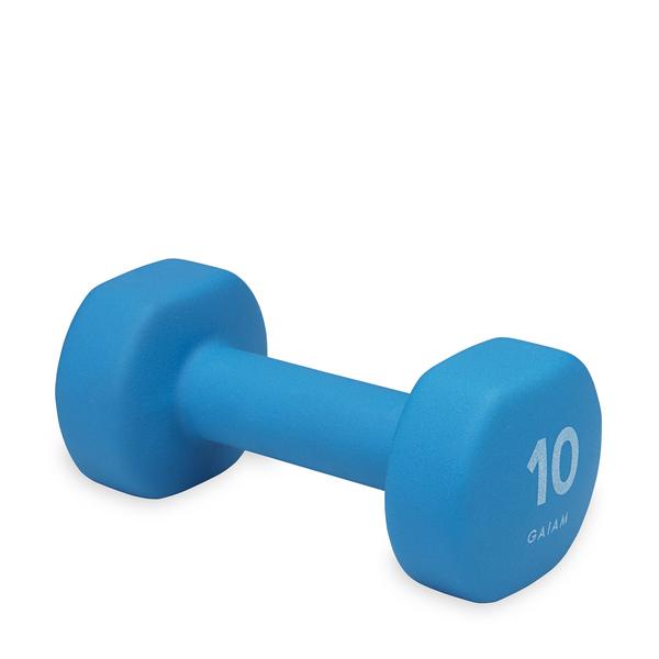 GAIAM Neoprene Hand Weights 10lb
