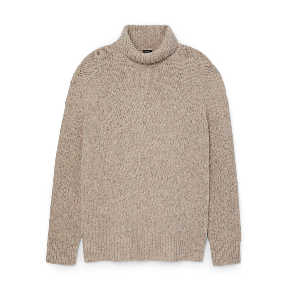 Joseph Tweed Knit Turtleneck