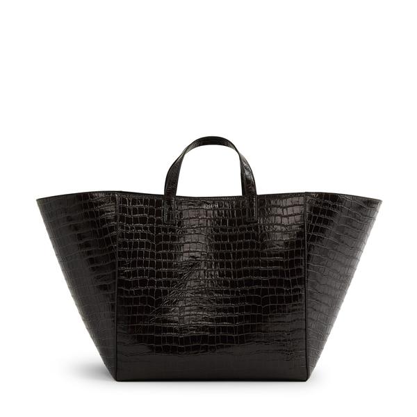 Joseph Croc Leather Tote