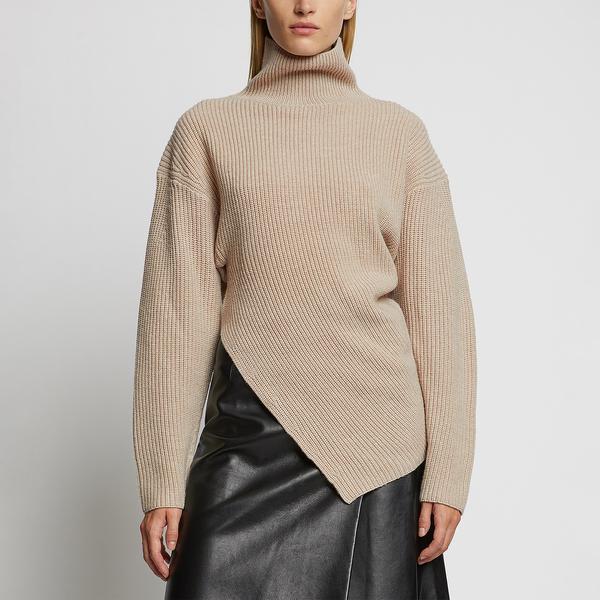 Proenza Schouler Asymmetrical Turtleneck Sweater