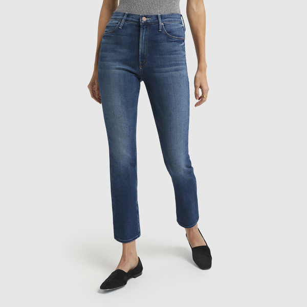 MOTHER The Mid-Rise Dazzler Ankle Jeans
