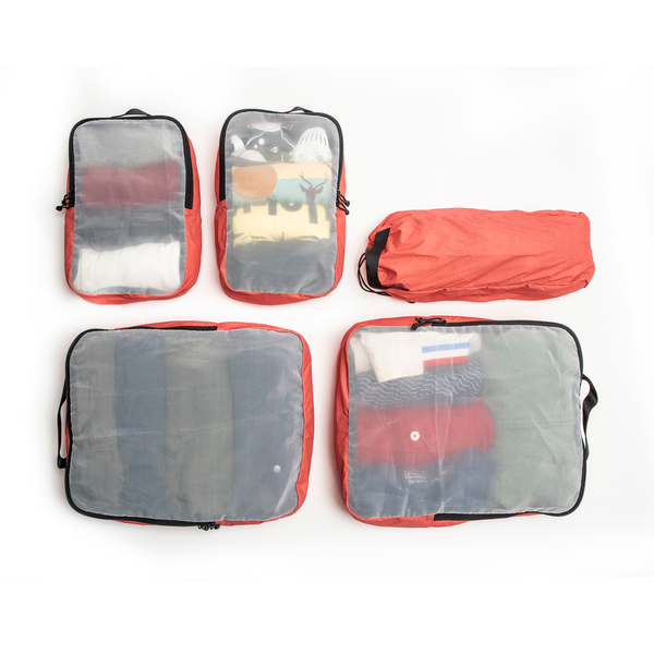 Pakt Travel Backpack Packing Cube Set
