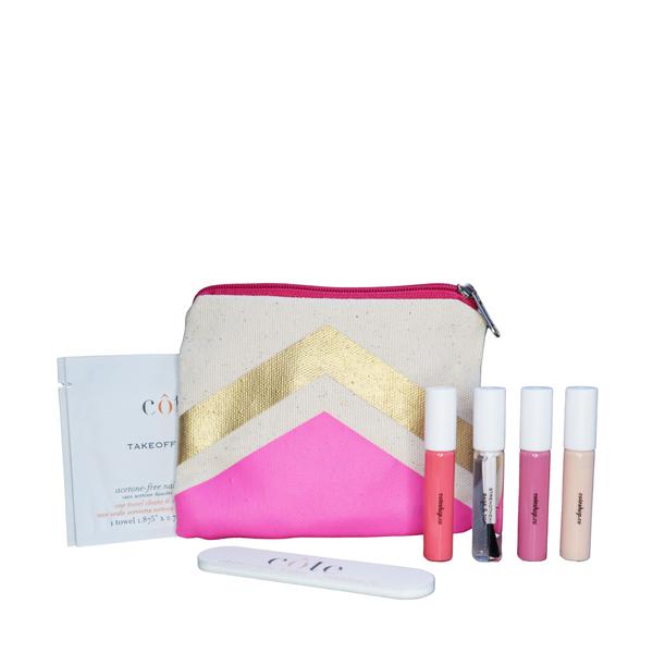 Côte Pretty in Pink Traveler Set