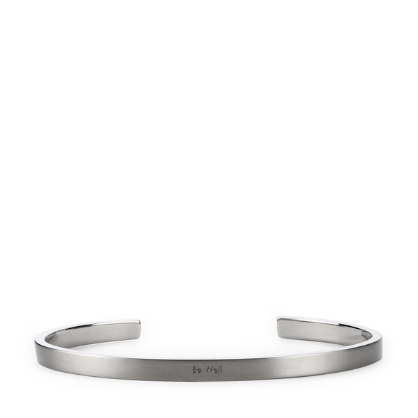 HNDSM Be Well Grey Titanium Cuff