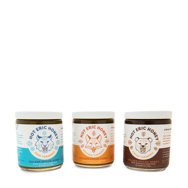 HOT ERIC Golden Honey Trio