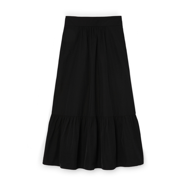 G. Label Jess Tiered Midlength Skirt