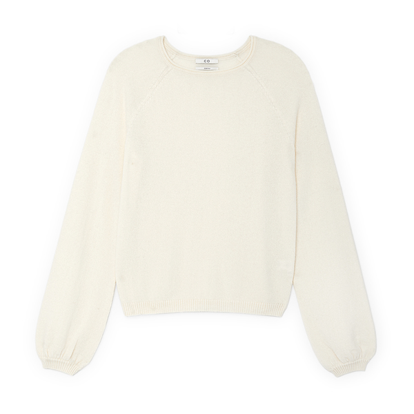 Co Peasant Sleeve Sweater