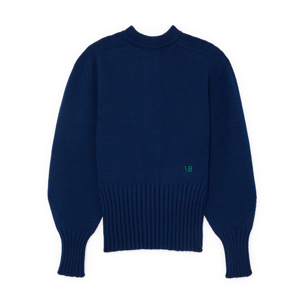Victoria Beckham Button-Back Jumper