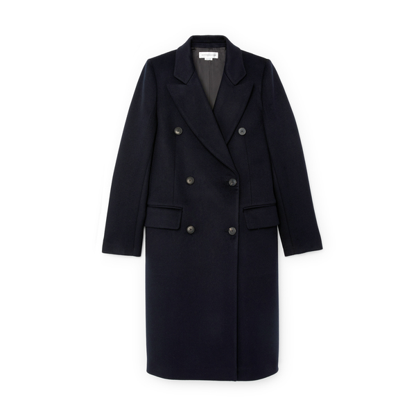 Victoria Beckham Double-Breasted Tailored Coat