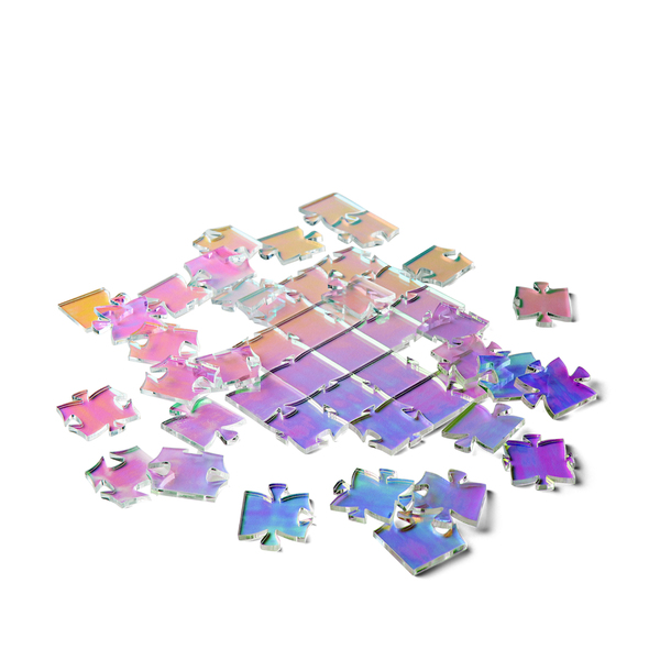 WAVES PUZZLE Waves Iridescent Puzzle