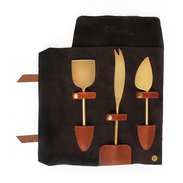 NAPPA DORI Cheese Knives Set