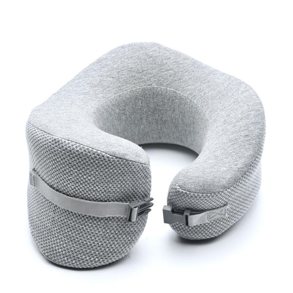 Cushion Lab Ergonomic Travel Neck Pillow