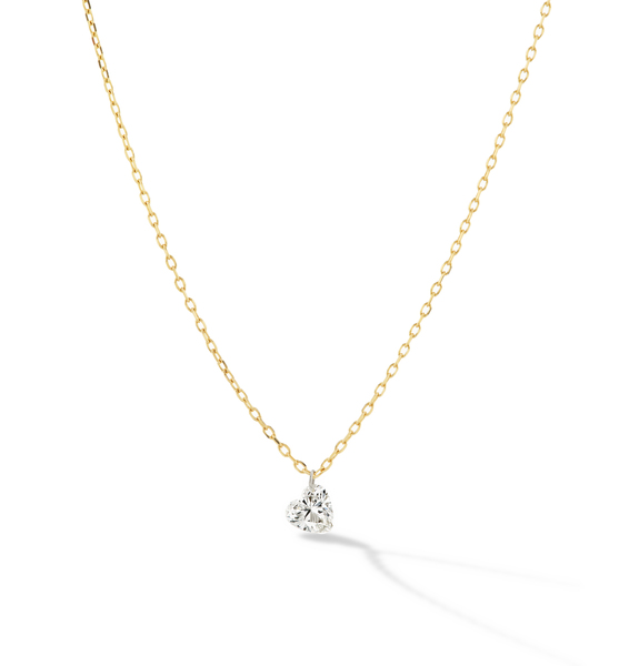 Sophie Ratner Pierced Heart Necklace