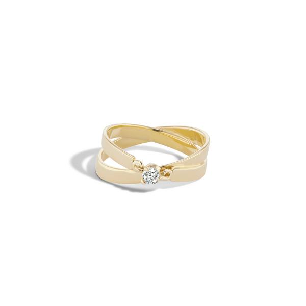 Sophie Ratner Diamond Infinity Ring