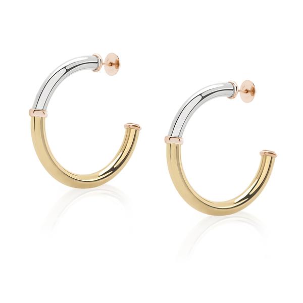 PRASI FINE JEWELRY Mangueira Hoop Earrings