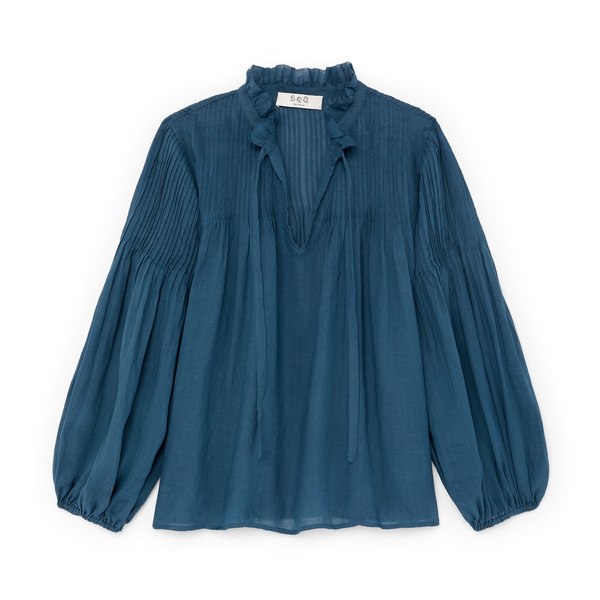Sea Hattie Pintucked Blouse