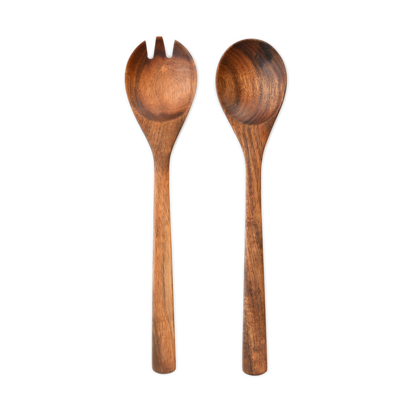 CONNECTED GOODS Acacia Wooden Salad Servers