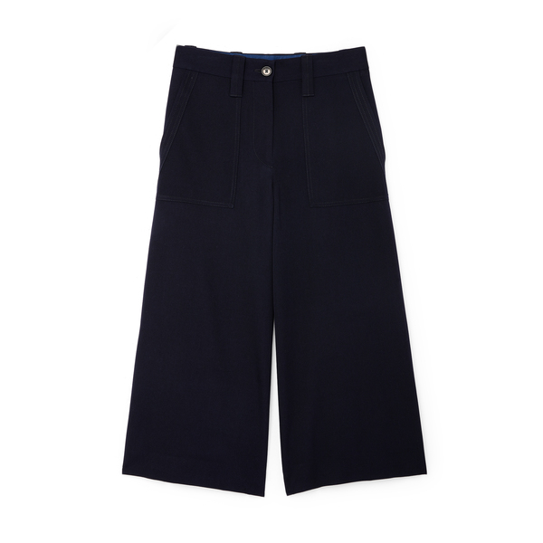 JW Anderson Cropped Wide-Leg Trousers