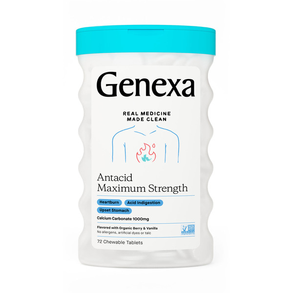 Genexa Antacid Maximum Strength