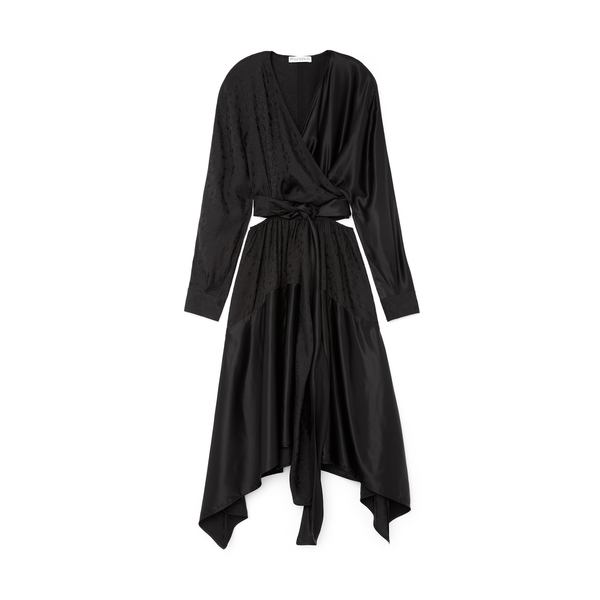 JW Anderson Wrap-Over Cutout Dress